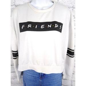 Vintage 90's Friends TV Show Cropped Sweatshirt